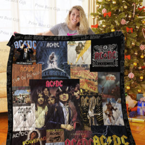 Ac/Dc Albums Cover Poster Quilt Blanketver 3
