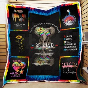 Bc – Be King Autism Quilt Blanket