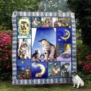 Ll – Cat Quilt Blanket Ver 10