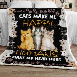 Ll – Cats Quilt Blanket Ver 18