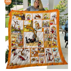 Ll – Calvin And Hobbes Quilt Blanket