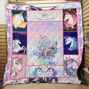 Bc – Always Be Unicorn Quilt Blanket