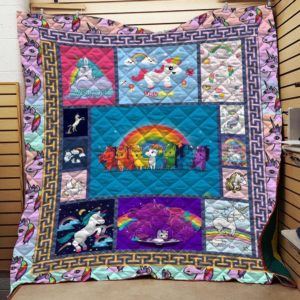 Bc – Magical Unicorn Quilt Blanket
