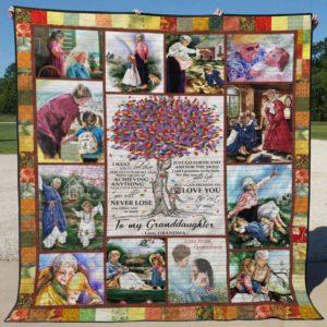Ll – Grandma To Granddaughter Quilt Blanket