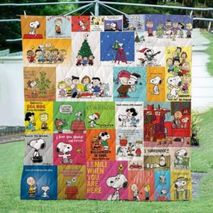 Bc – Peanuts Christmas  Quilt Blanket