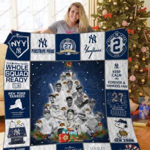 New York Yankees Legends Quilt Blanket
