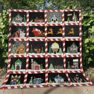 Bc – Christmas Ver1 Quilt Blanket