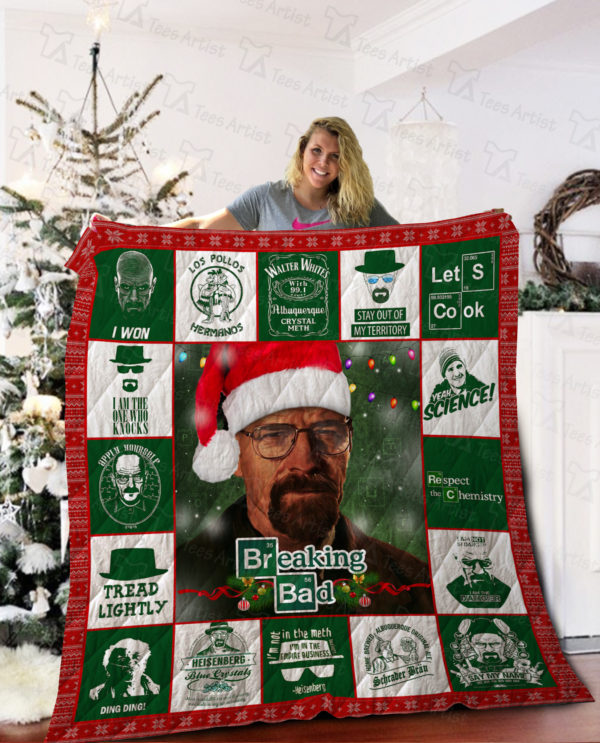 Breaking Bad Christmas Quilt Blanket Great Customized Blanket Gifts For Birthday Christmas Thanksgiving