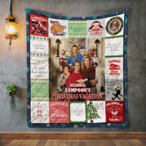 National Lampoon'S Christmas Vacation Style 2 Quilt Blanket