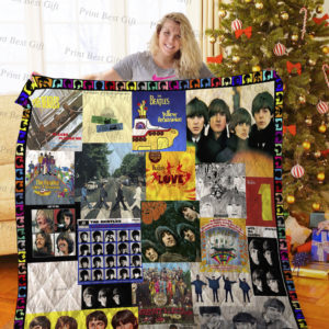 The Beatles Albums Cover Poster Quilt Blanket Ver 4