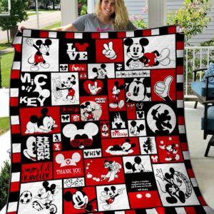 Bc – Mickey Mouse Quilt Blanket 02