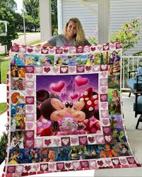 Mickey Mouse Quilt Blanket 01