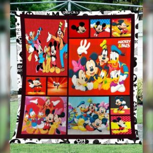 Mickey Mouse Quilt Blanket 03