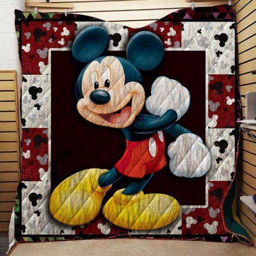 Mickey Mouse Quilt Blanket 04
