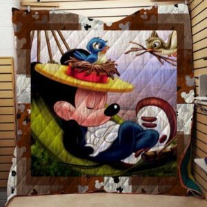 Mickey Mouse Quilt Blanket 06