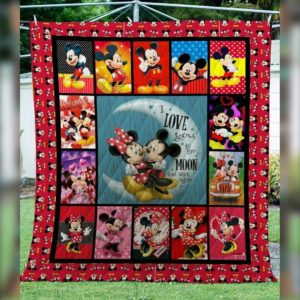 Mickey Mouse Quilt Blanket 02