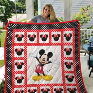 Bc – Mickey Mouse Inspire Quilt Blanket 01