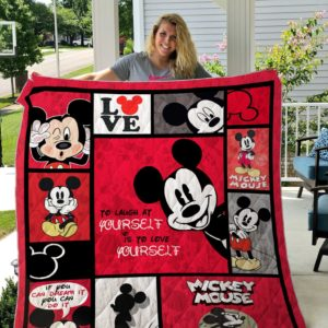 Bc – Mickey Mouse Quilt Blanket