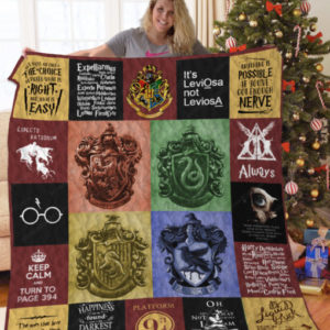 [B] Harry Potter Quilt Blanket For Fans Ver 20 Ver2