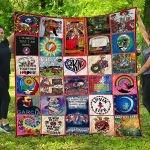 Ll – Grateful Dead Quilt Blanket