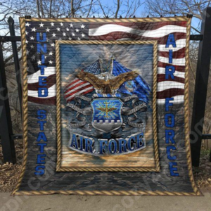 Us Air Force Quilt Blanket
