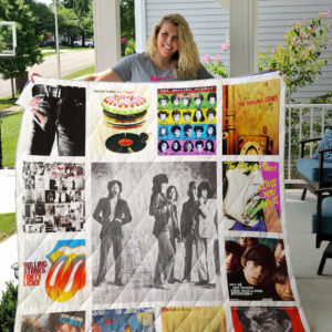 The Rolling Stones Quilt Blanket 02