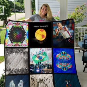 Coldplay single custom quilt blanket 01
