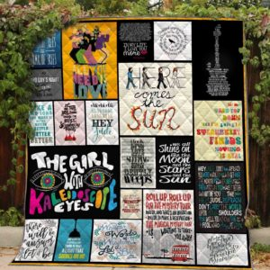 The Beatles Here Comes The Sun Quilt Blanket Great Customized Blanket Gifts For Birthday Christmas Thanksgiving