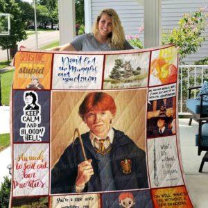 Ron Weasley Quilt Blanket 01