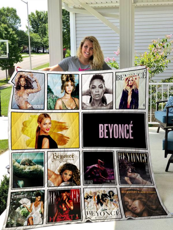 Beyoncé Quilt Blanket