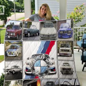 BMW 2002 Turbo Quilt Blanket