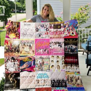 Girls' Generation Quilt Blanket