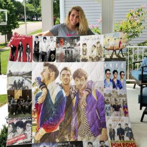 Jonas Brothers Quilt Blanket