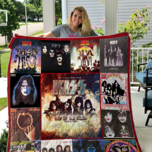 KISS End Of The Road World Tour Quilt Blanket