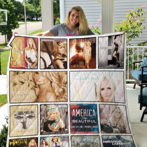 Miranda Lambert Quilt Blanket