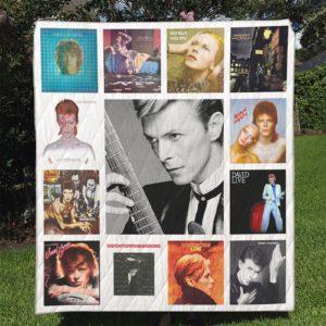 David Bowie Quilt Blanket
