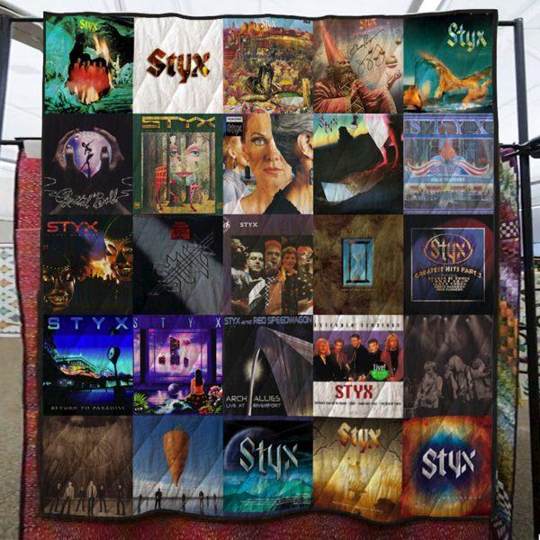 Styx Band Quilt Blanket