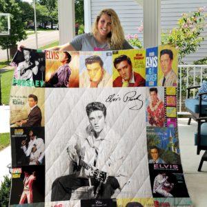 Elvis Presley Two Quilt Blanket