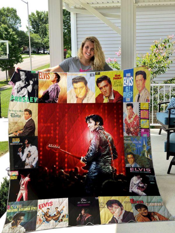 Elvis Presley Four Quilt Blanket