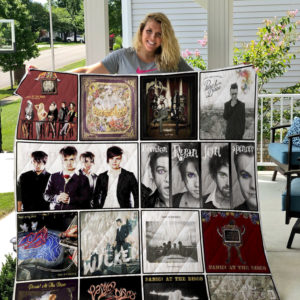 Panic! at the Disco Quilt Blanket