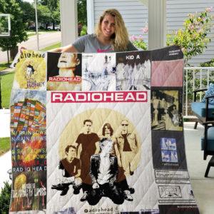Radiohead Style 2 Quilt Blanket