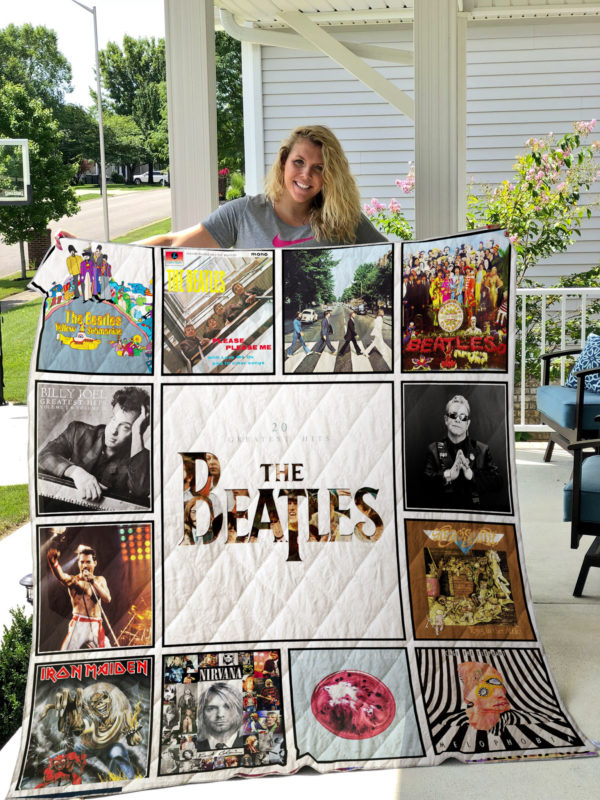 Rock Fans Quilt Blanket