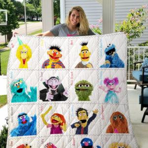 Sesame Street 2 Quilt Blanket