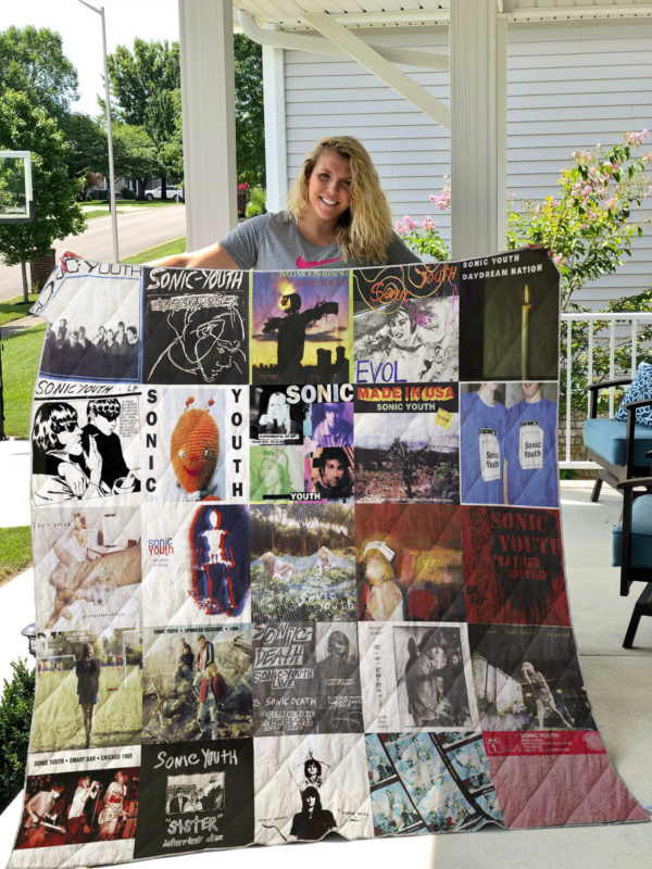 Sonic Youth Style 2 Quilt Blanket
