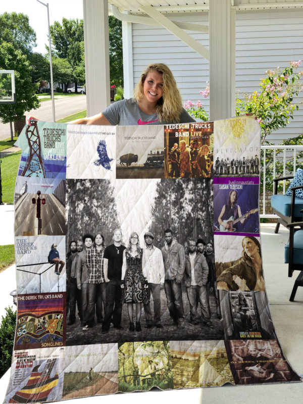 Tedeschi Trucks Band Quilt Blanket