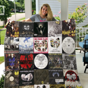 Wu-Tang Clan Style 2 Quilt Blanket