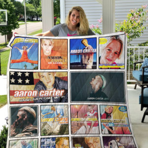 Aaron Carter Quilt Blanket
