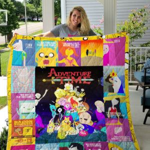 Adventure time Quilt Blanket
