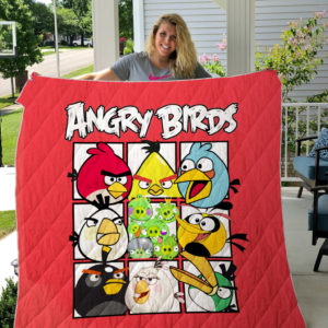 Angry birds Quilt Blanket