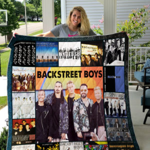 Backstreet Boys Style 3 Album Covers Quilt Blanket
